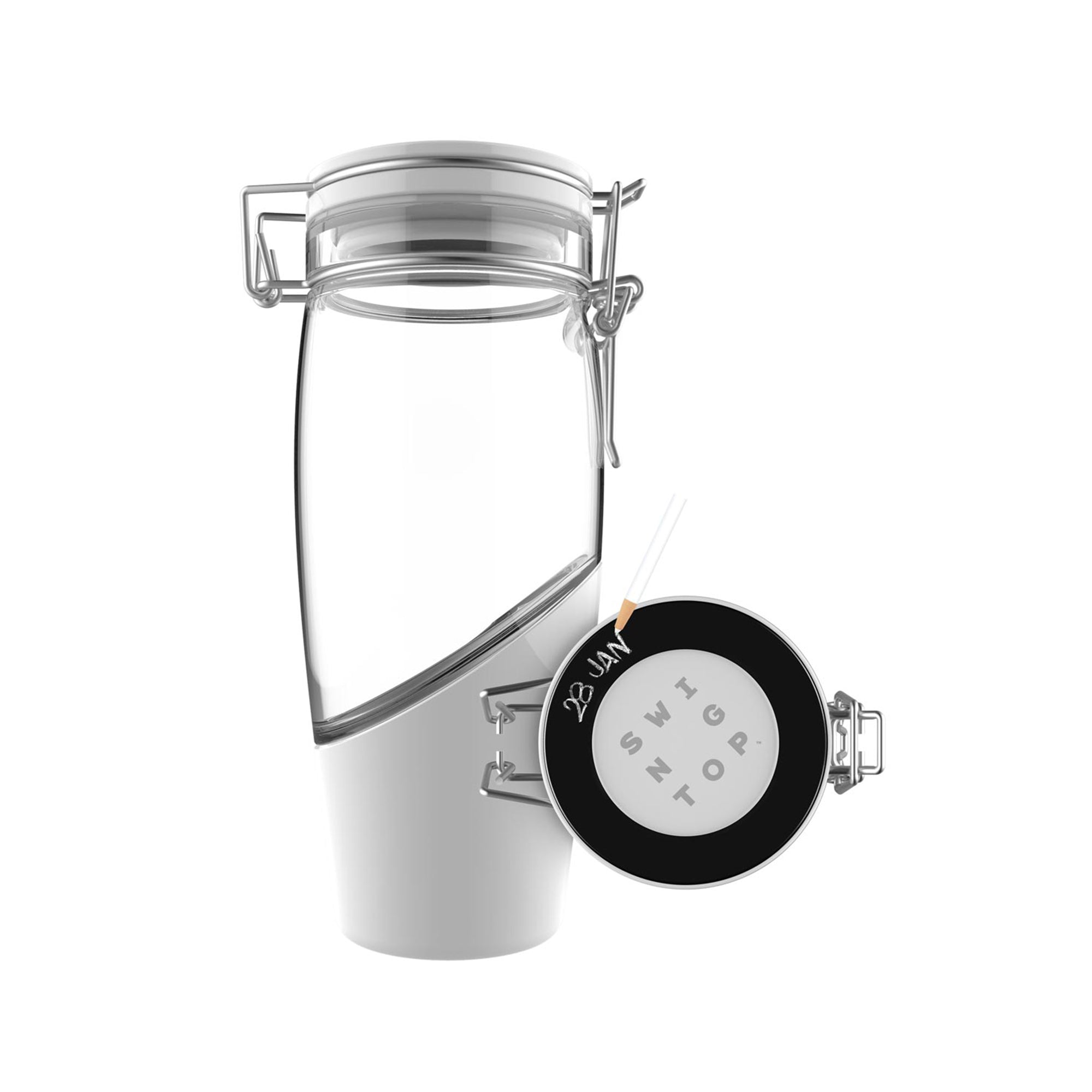 Glass Flip Top Brewing Bottle for Kombucha