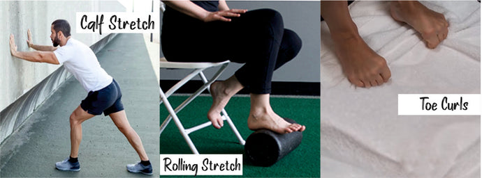 Three exercises to soothe plantar fasciitis pain!