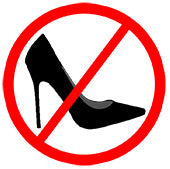 Say no to high heels