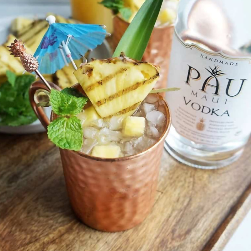 Grilled Pineapple Maui Mule