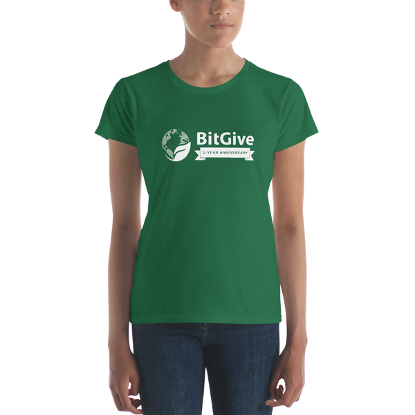 BitGive 5 Year -  Women's Short-Sleeve T-Shirt