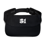Black 51 Attack Embroidered Visor