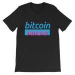 Bitcoin Miami Vice - Short-Sleeve Unisex T-Shirt