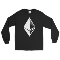 Ethereum Grunge Long Sleeve T-Shirt