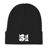 51 Attack Knit Beanie in Black