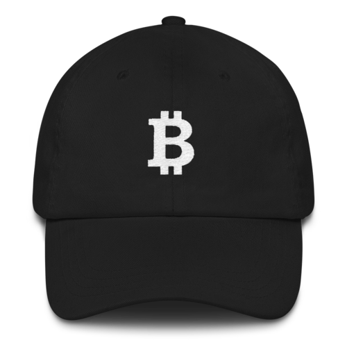 ded2591b737 Bitcoin Classic Cap - White on Black – 51attack