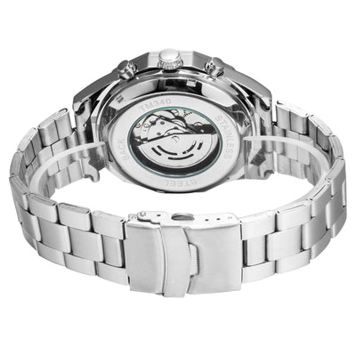 Genesis Silver Steel Watch
