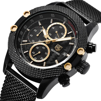 Carbon Benyar Watch