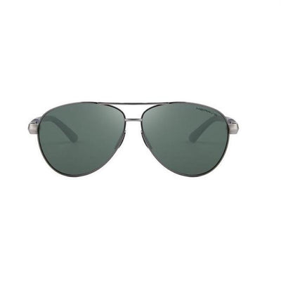 Polarized Aviator - Green / Gray