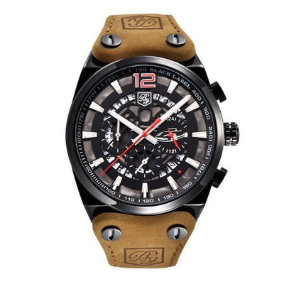 Rictus Chronograph Sports Leather Watch