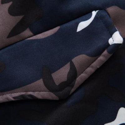 Arcoz Camo Hooded Jacket
