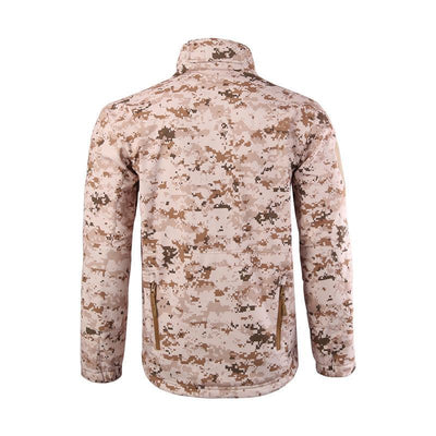 Juckry Camo Hooded Jacket