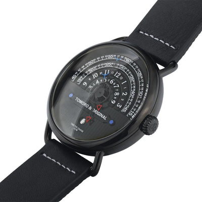 Coche Tactical Leather Watch