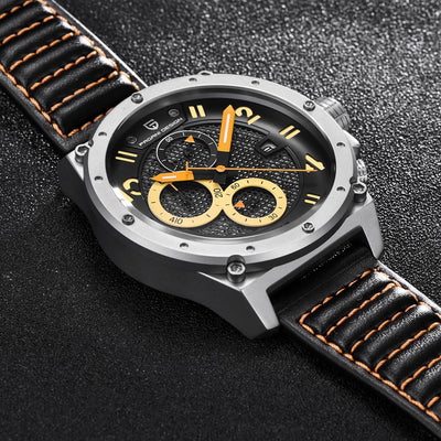 Zeal Deluxe Leather Watch