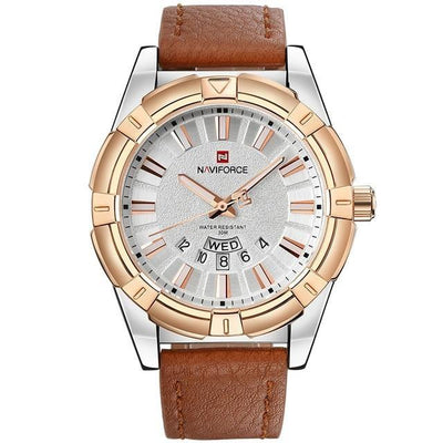 Elegante Leather Watch