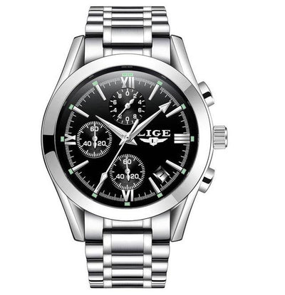 Neutra Chronograph Stainless Steel Watch