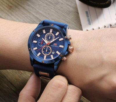 Focus Chronograph Silicone Watch