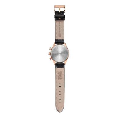 Kaz Multi-Function Leather Watch
