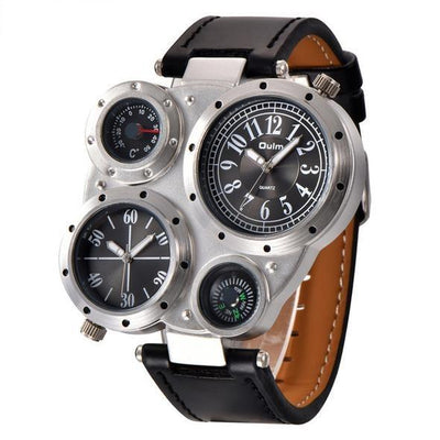 Voyager PU Leather Watch