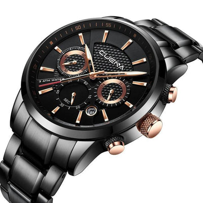 CUENA Chronograph Stainless Steel Watch
