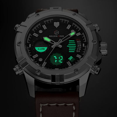 JDoe Leather Watch