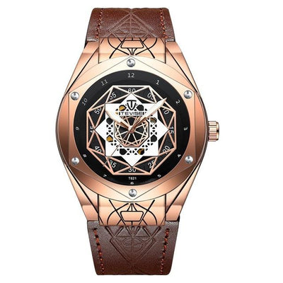 Cheveux Leather Watch