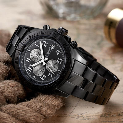 Jackson Chronograph Steel Watch