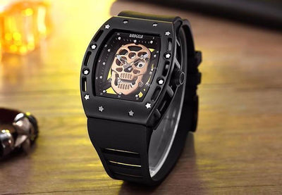Wick Skull Silicone Watch