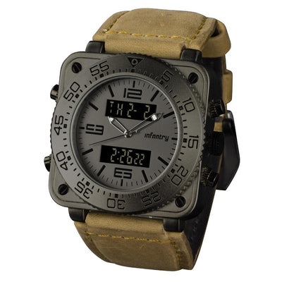 Grey Camo Strap Watch