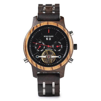 Weiga Wood Watch