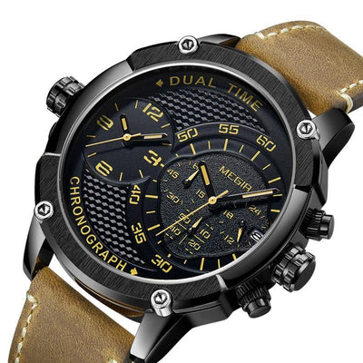Arnow Chronograph Leather Watch