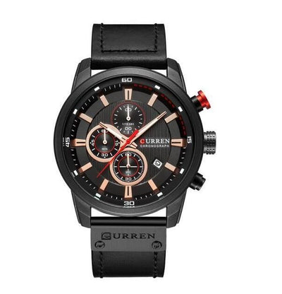 Rakel Sports Leather Watch
