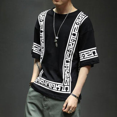 Ethnic BW T-Shirt