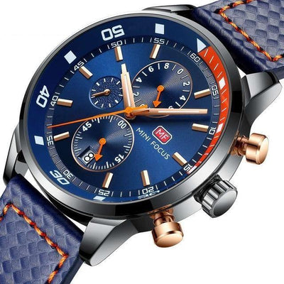 Wiltow Chronograph Leather Watch