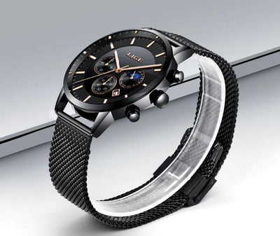 Romnel Multi-Function Steel Watch