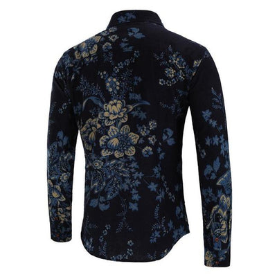 Pine Blue Long Sleeve Shirt