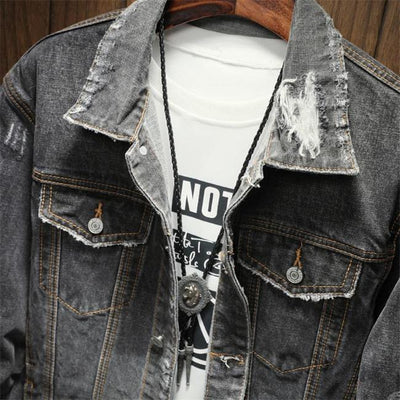 Burlen Rugged Denim Jacket