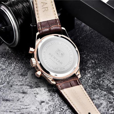 Argale Classic Leather Watch