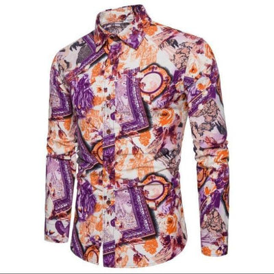 SF Rockstar Floral Long Sleeve Shirt