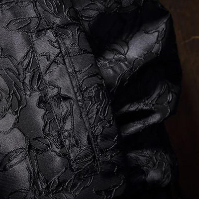 Mandalon Black Rose Jacket