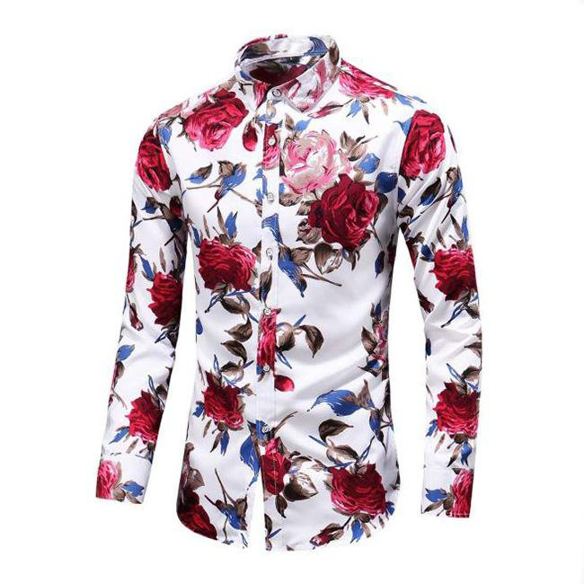 Merol Rose Long Sleeve Shirt