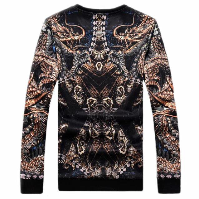 Rose Gold Dragon Sweatshirt