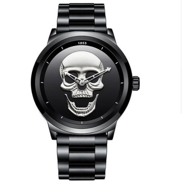 Skull Metal Watch