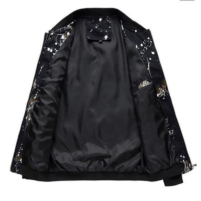 Sparks Black Bomber Jacket
