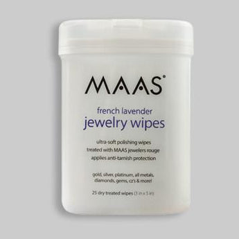 Maas jewellery cleaning wipes