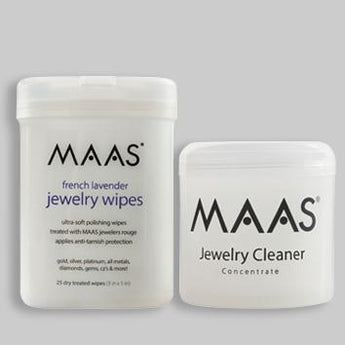 Maas Jewellery Cleaner and Polishing Wipes - Special Offer - Maas Polish New Zealand