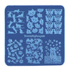 Animal Theme Cat Design Square Nail Art Stamping Plate For Manicure BBBS-026 (US Warehouse)