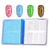 Geometry Theme Rectangle Nail Art Stamping Plate BBBXL-080 (US Warehouse)