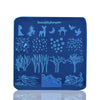 Nature Landscape Trees Theme Square Nail Art Stamping Plate BBBS-031(US Warehouse)