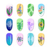 Flower Leaves Plants Nail Art Stamping Plates BBBXL-092(US Warehouse)
